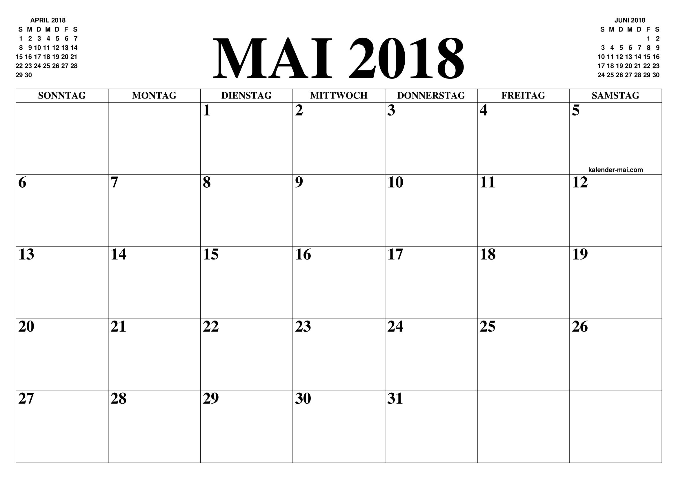 Calendar Mai : Kalender mai  zum